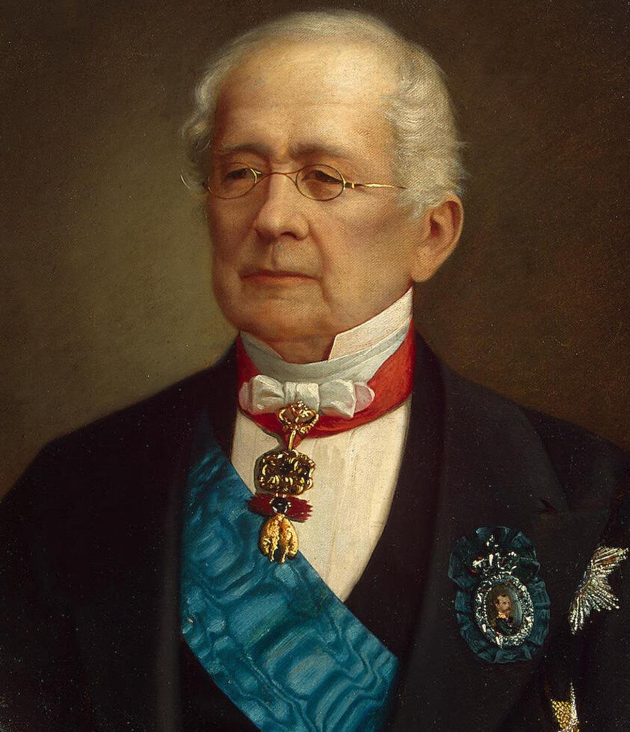 Pangeran Gorchakov mengabdikan seluruh hidupnya untuk layanan diplomatik.