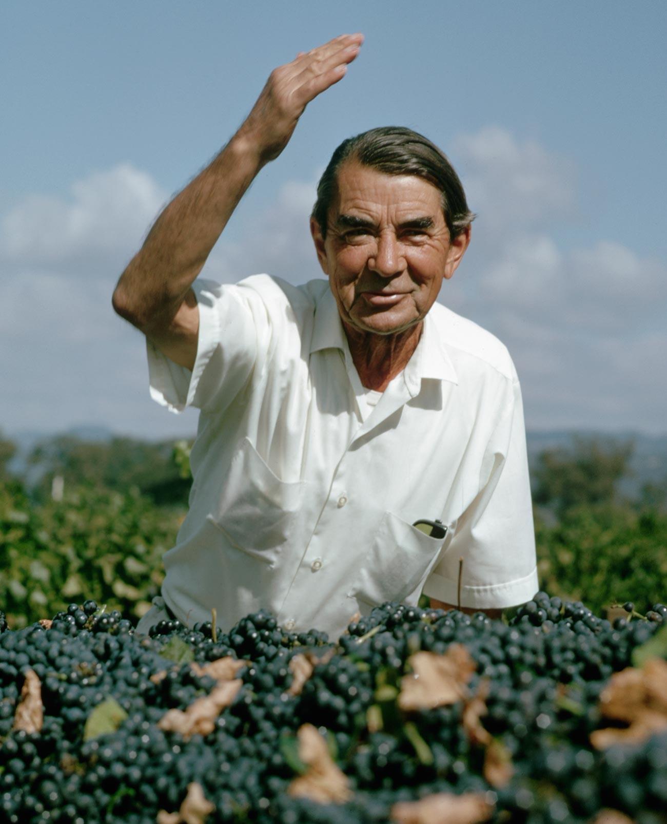 Winemaker Andre Tchelistcheff.