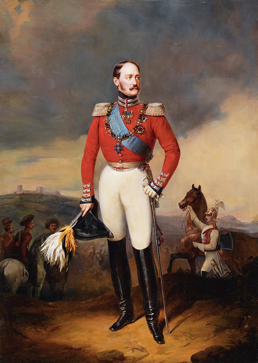 Retrato de Nicolau 1° da Rússia.