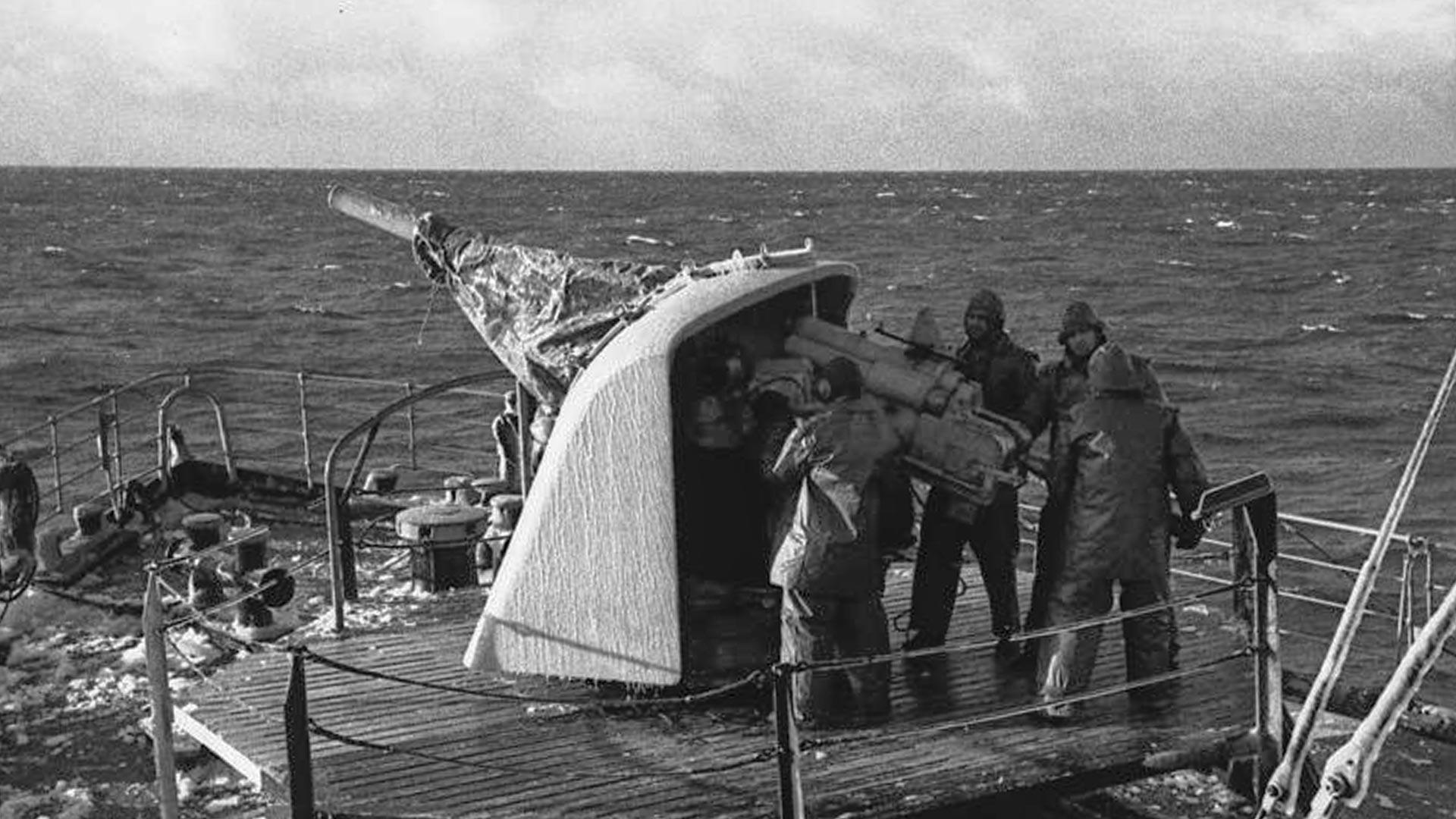 German sailors.