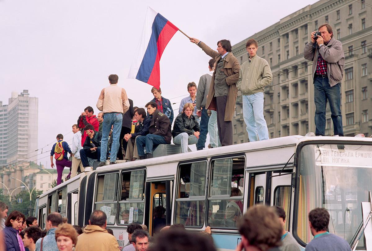 La tentative de coup d'État en 1991