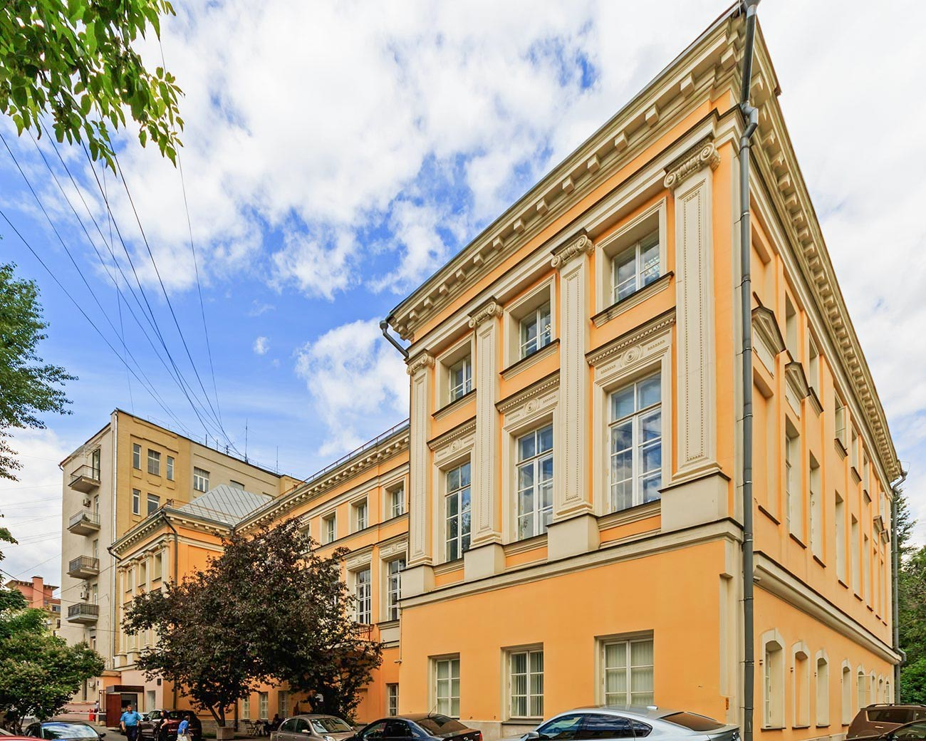House of James Bruce (Bryusov Lane)
