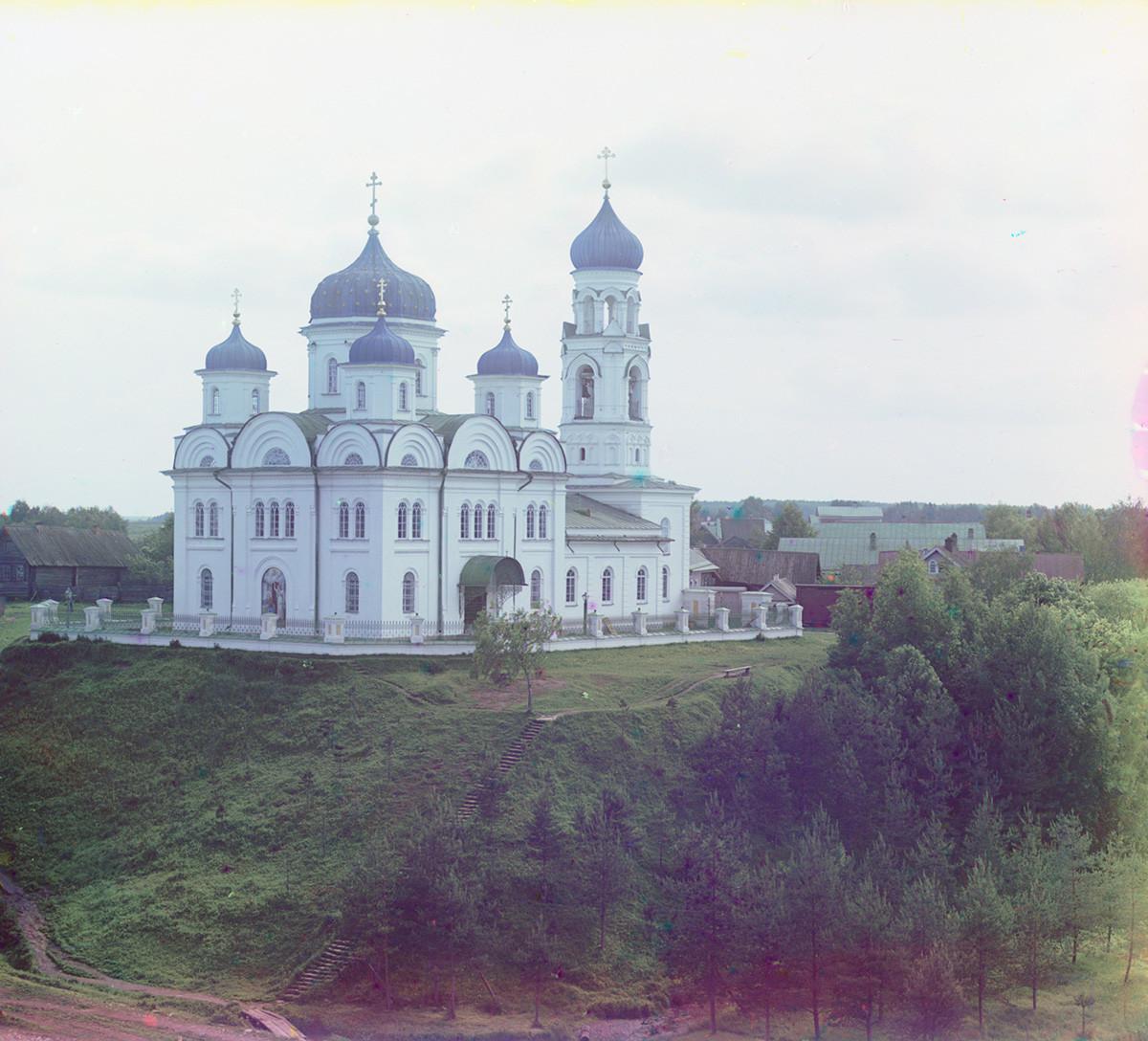 Cerkev nadangela Mihaela (cerkev Marijinega oznanjenja). Pogled proti severovzhodu. Poletje 1910