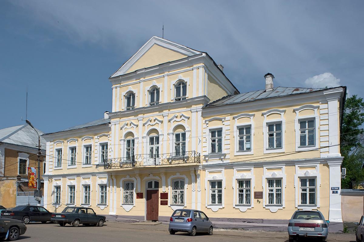 Hiša trgovca Ivana Kutafjeva na Rdečem trgu (18. stoletje). 14. maj 2010