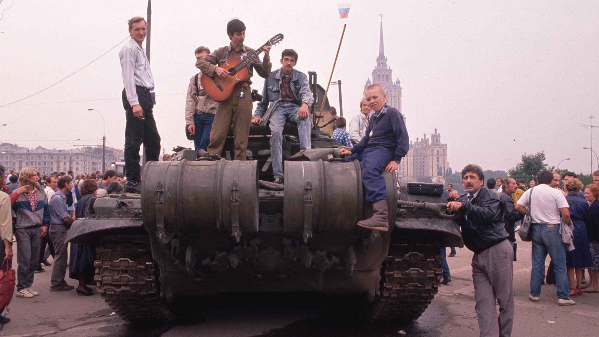 Los últimos días de la URSS en imágenes (Fotos) - Russia Beyond ES