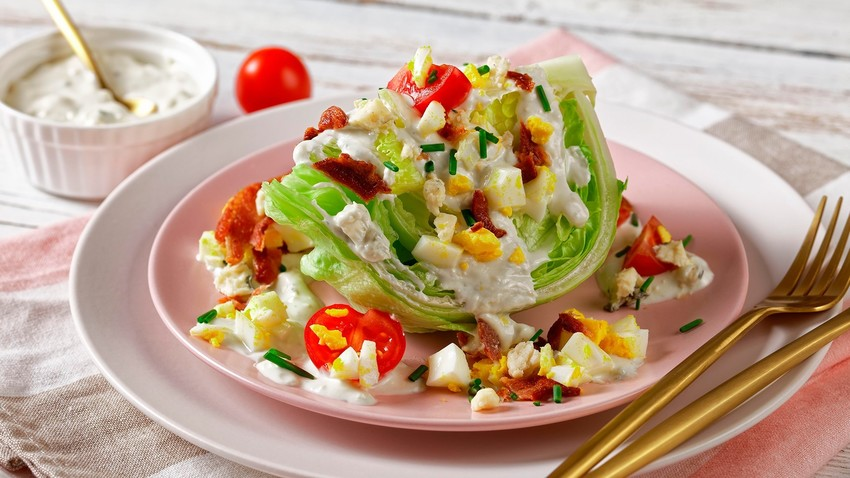 This salad is so tasty, we can't believe they called it 'Russian'.