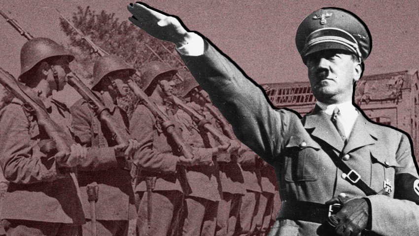 Who fought alongside Hitler against the USSR in World War II and why