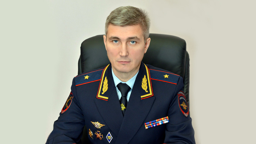 Kepala Kemendagri Bryanskaya Oblast Vladislav Tolkunov.