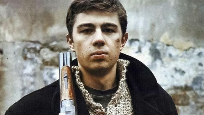 Sergei Bodrov Jr. dalam film 'Brat'.
