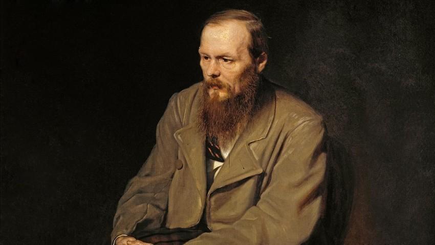 Portret Fjodorja Dostojevskega, Vasilij Perov, 1872.