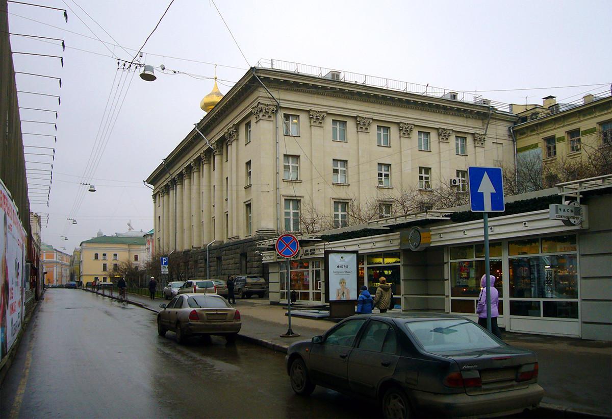 Новата сграда