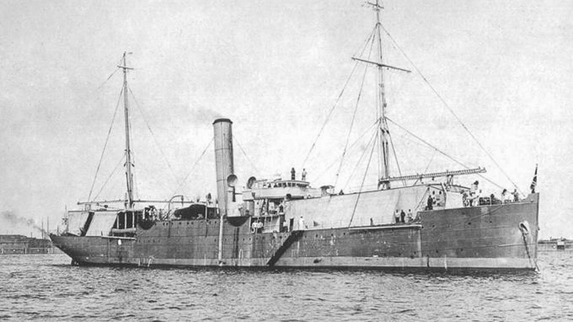 El hidroavión Otlitsa.