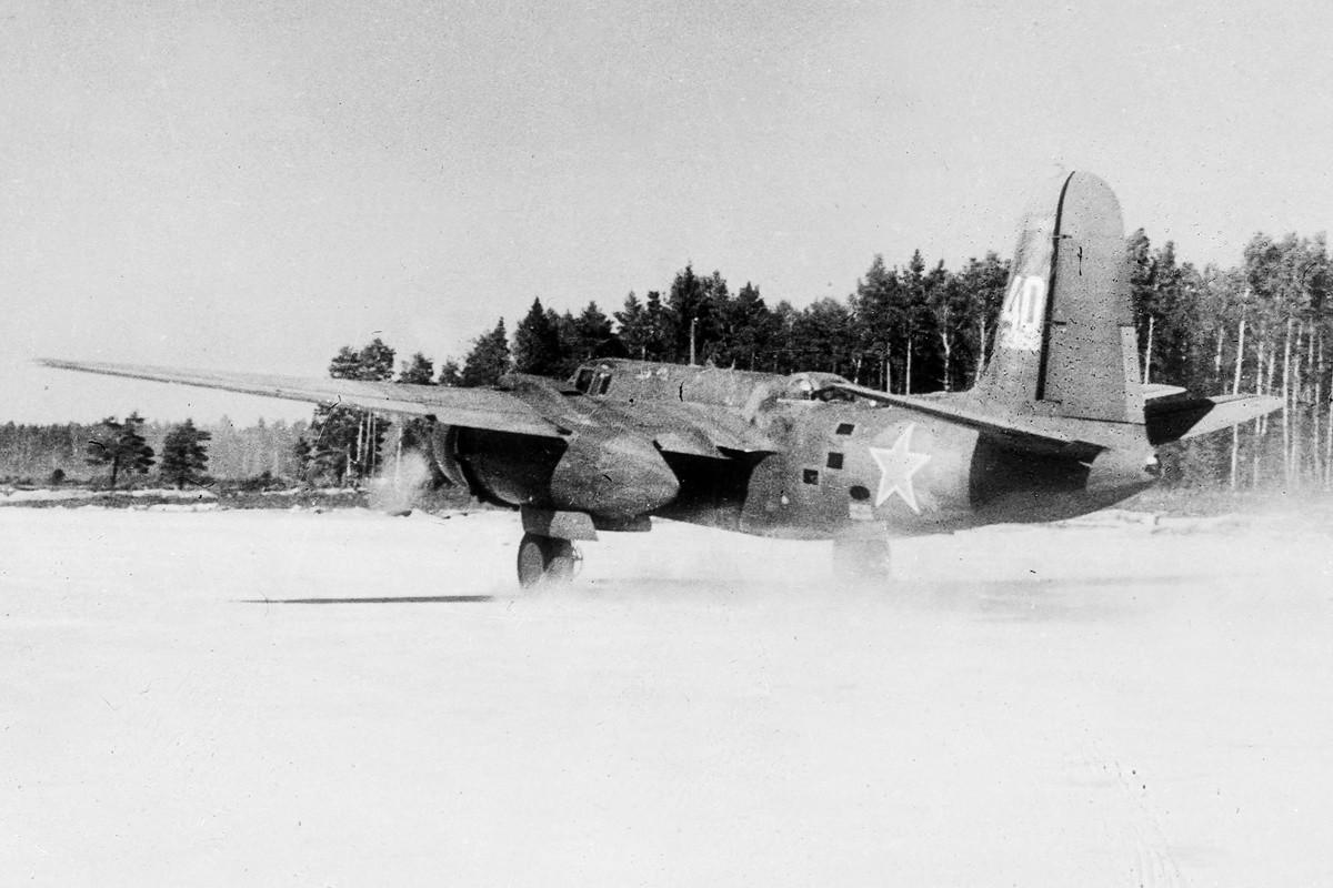 Modelo Havoc do 113º Regimento de Aviação de Caçadores Noturnos