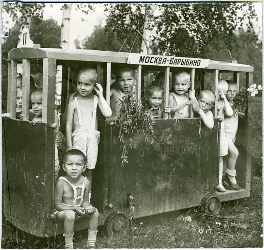 Un jardin d'enfants de l'usine Prolétarien rouge