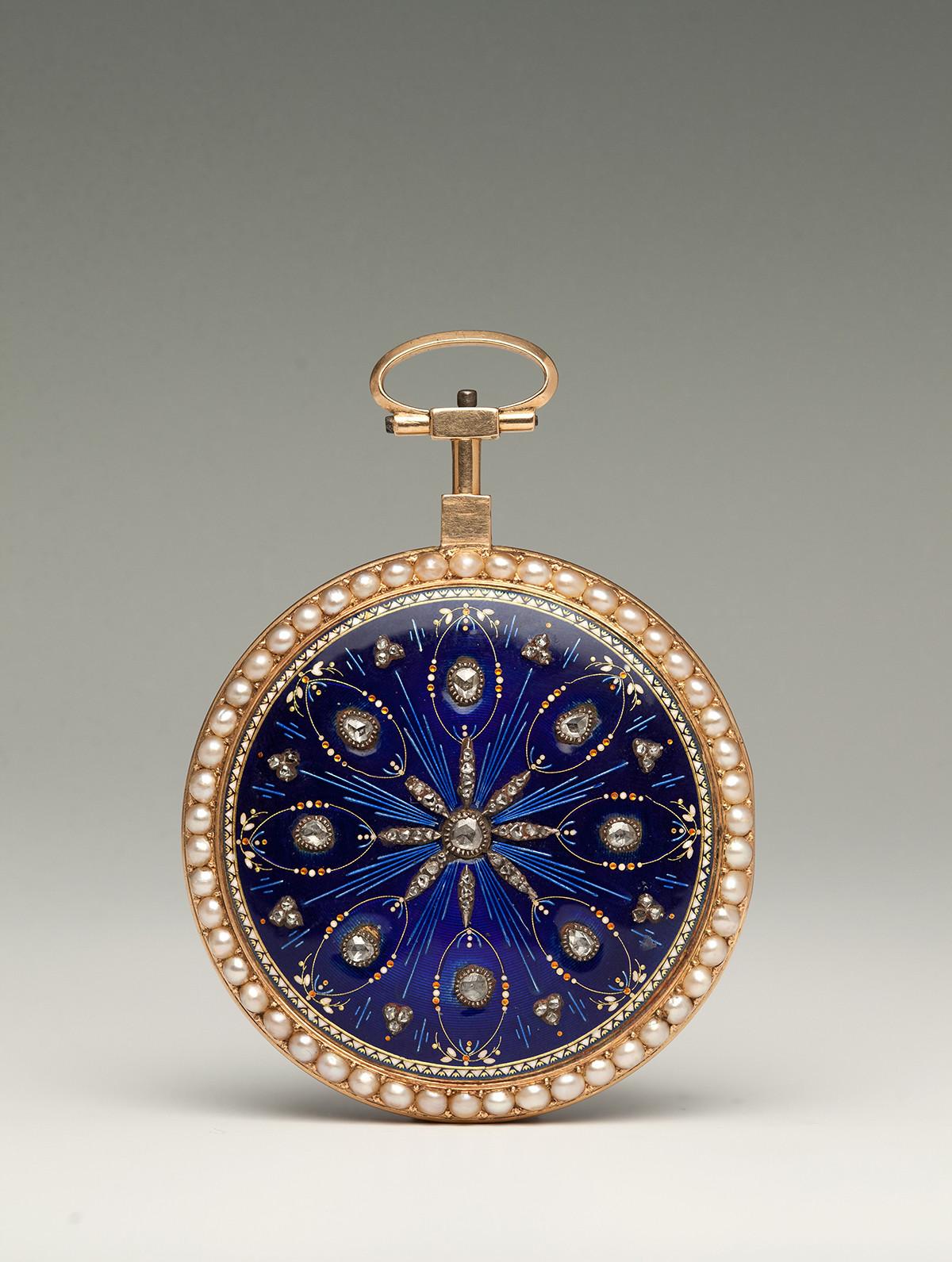 Montre de poche. France, Paris. Fin du XVIIIe siècle