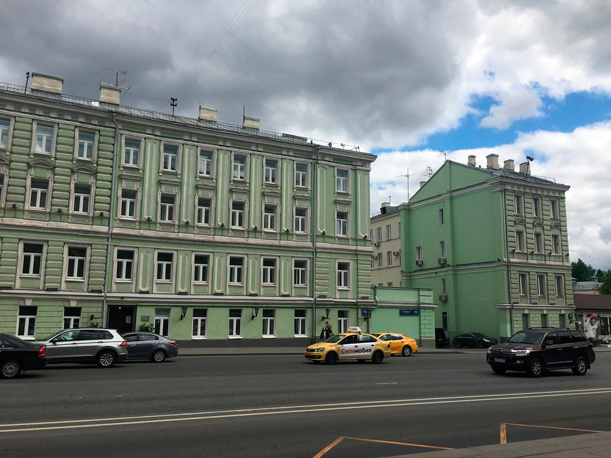 Les deux immeubles maintenant