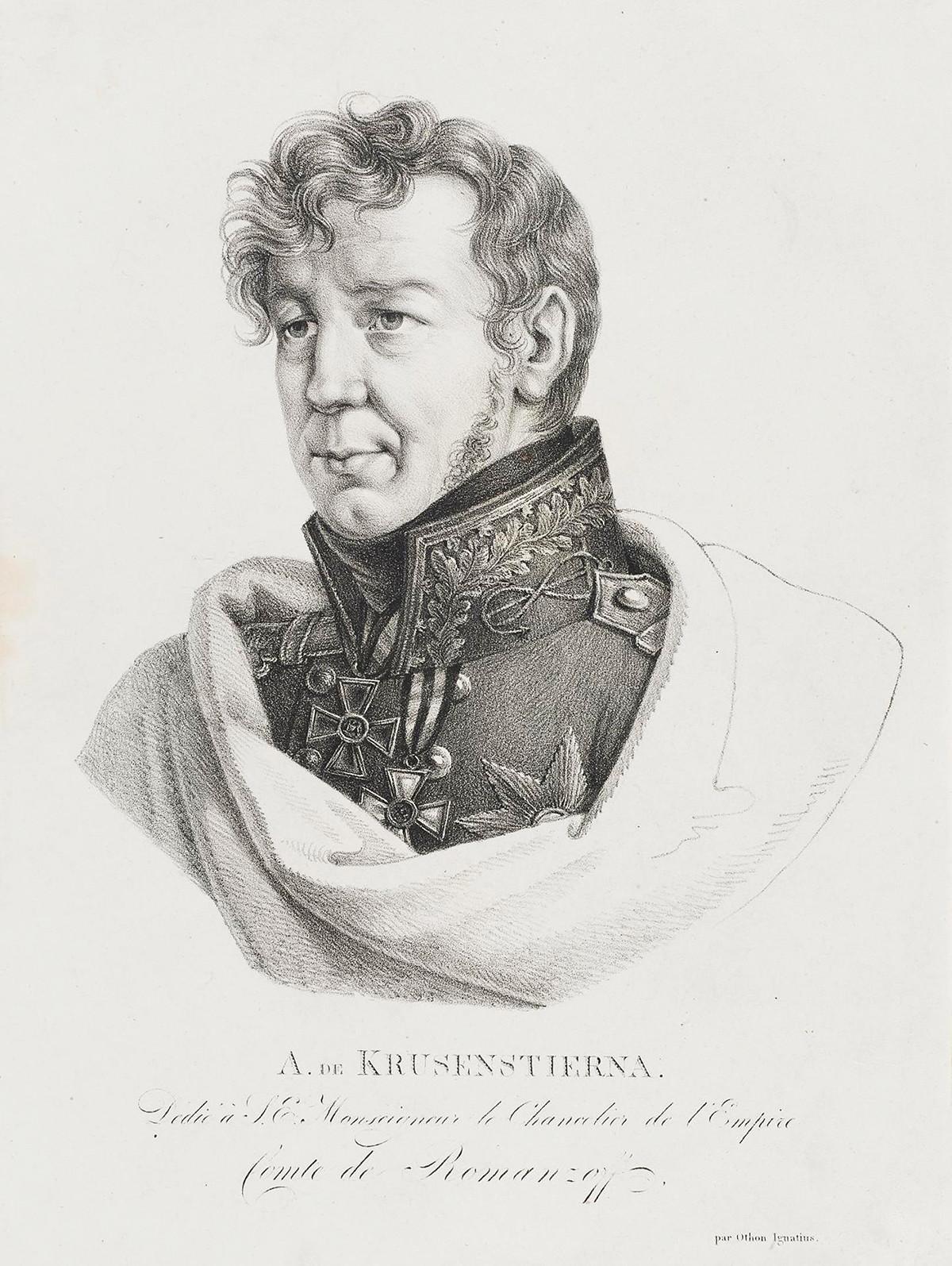 Admiral Ivan (Adam) von Krusenstern (1770-1846)