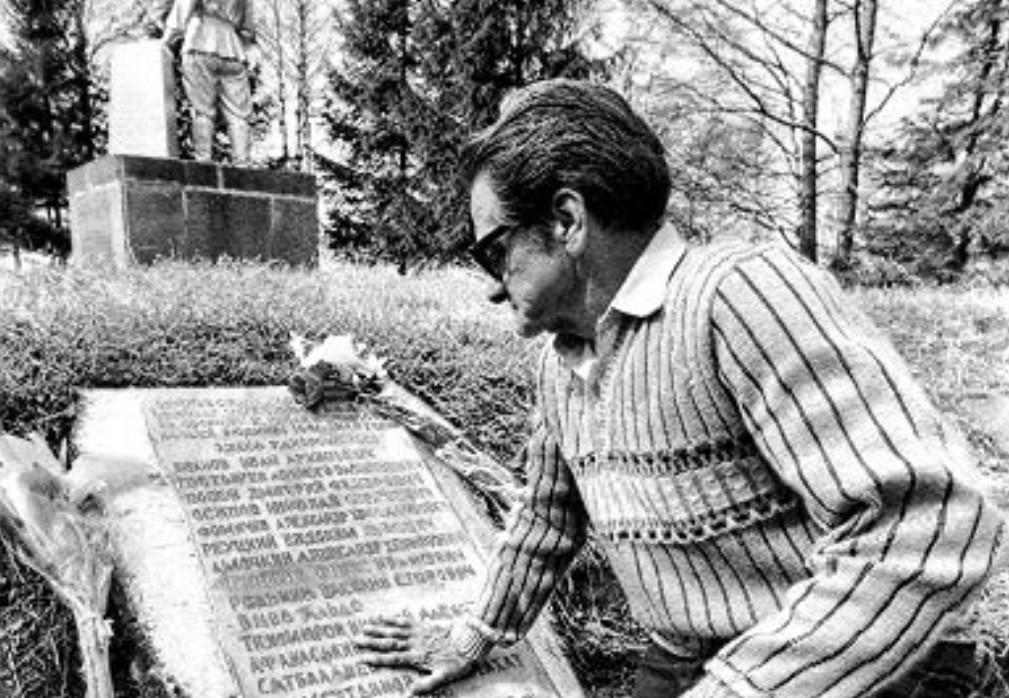 Jorge Vivó (tumba de su hermano Aldo).