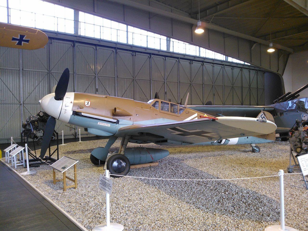 Messerschmitt Bf 109G-2 de Mato Dukovac.