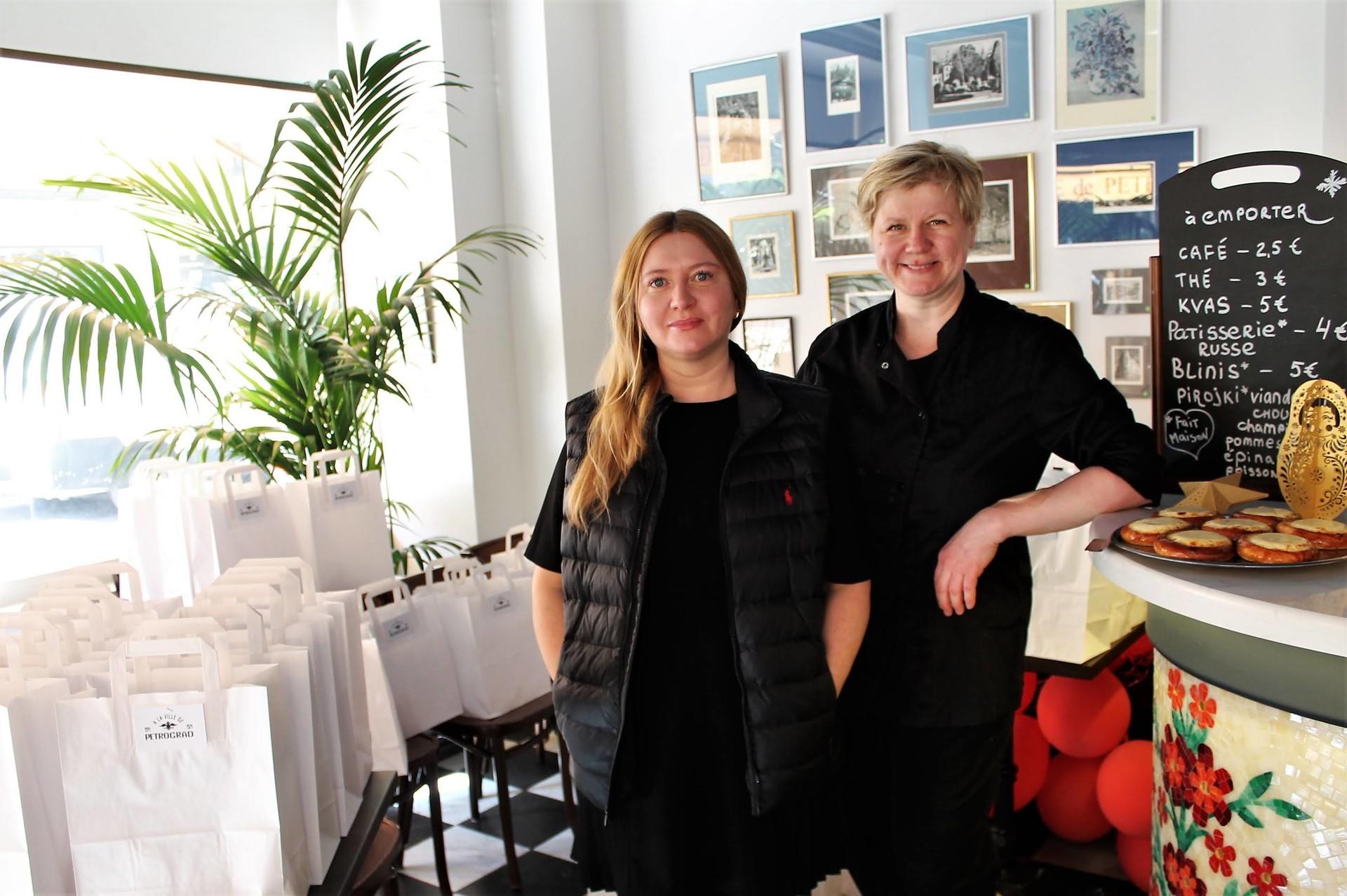 Veronika Rovnoff avec le chef Elena