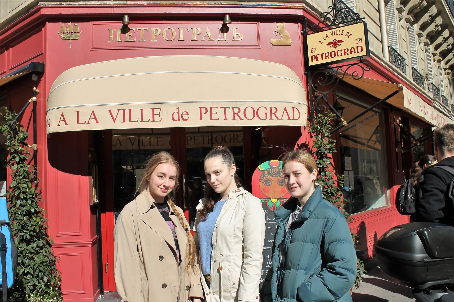 Karina, Daria et Angela