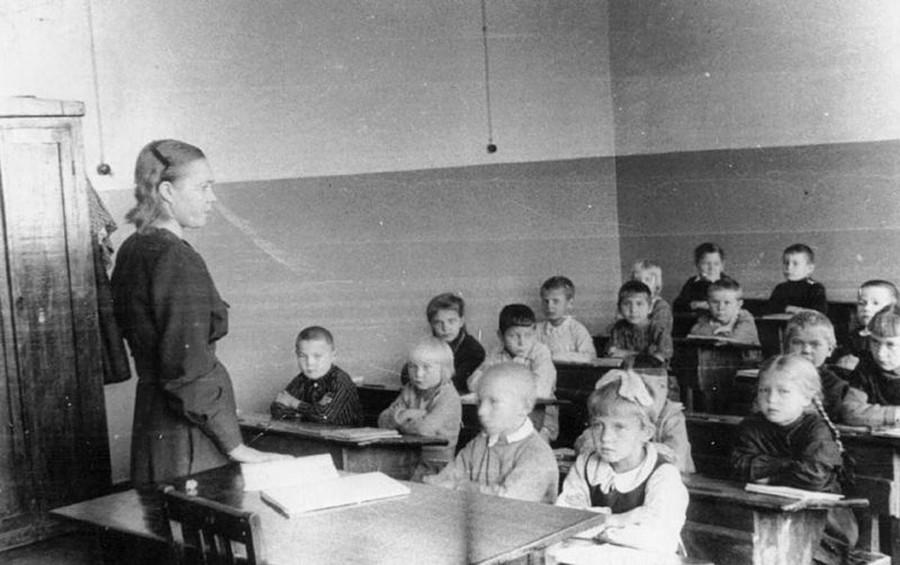 ヴォログダ州の新しい学校
