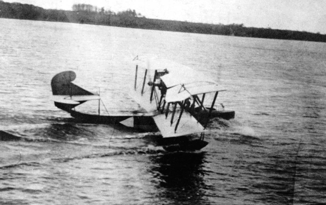Хидроплан на белия флот