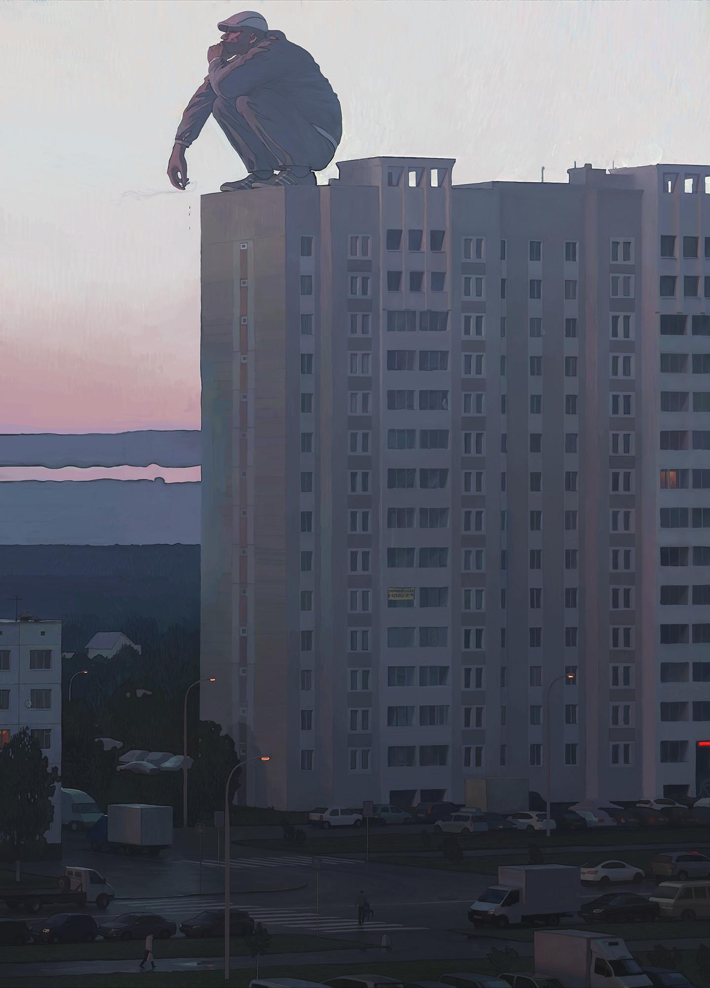 """""""Смотрящий"""", А. Сурнов."""