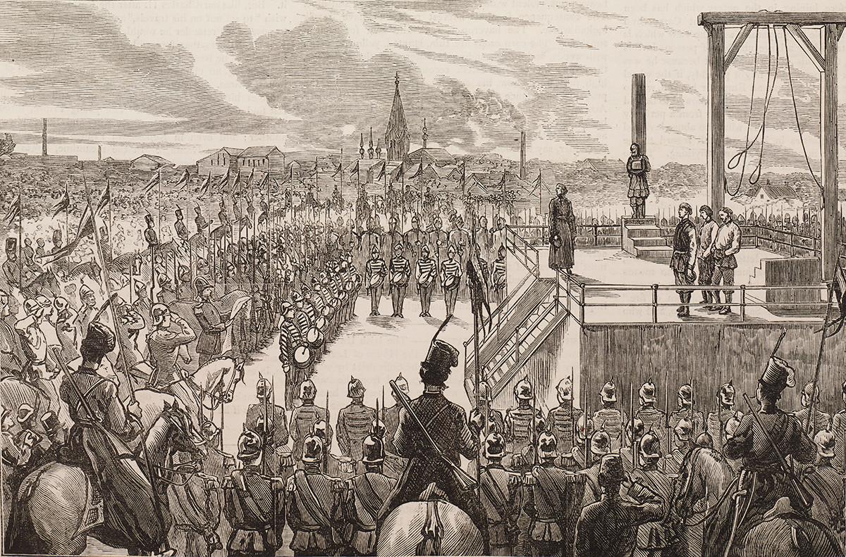 Екзекуцията на Александър Соловьов