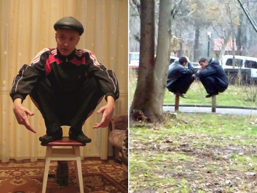 The anonymous Russian professionals of squatting