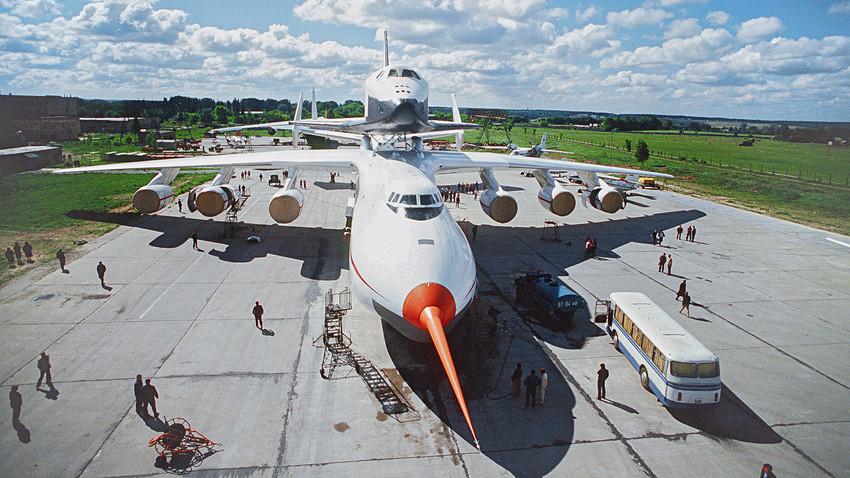 Pesawat Mriya.