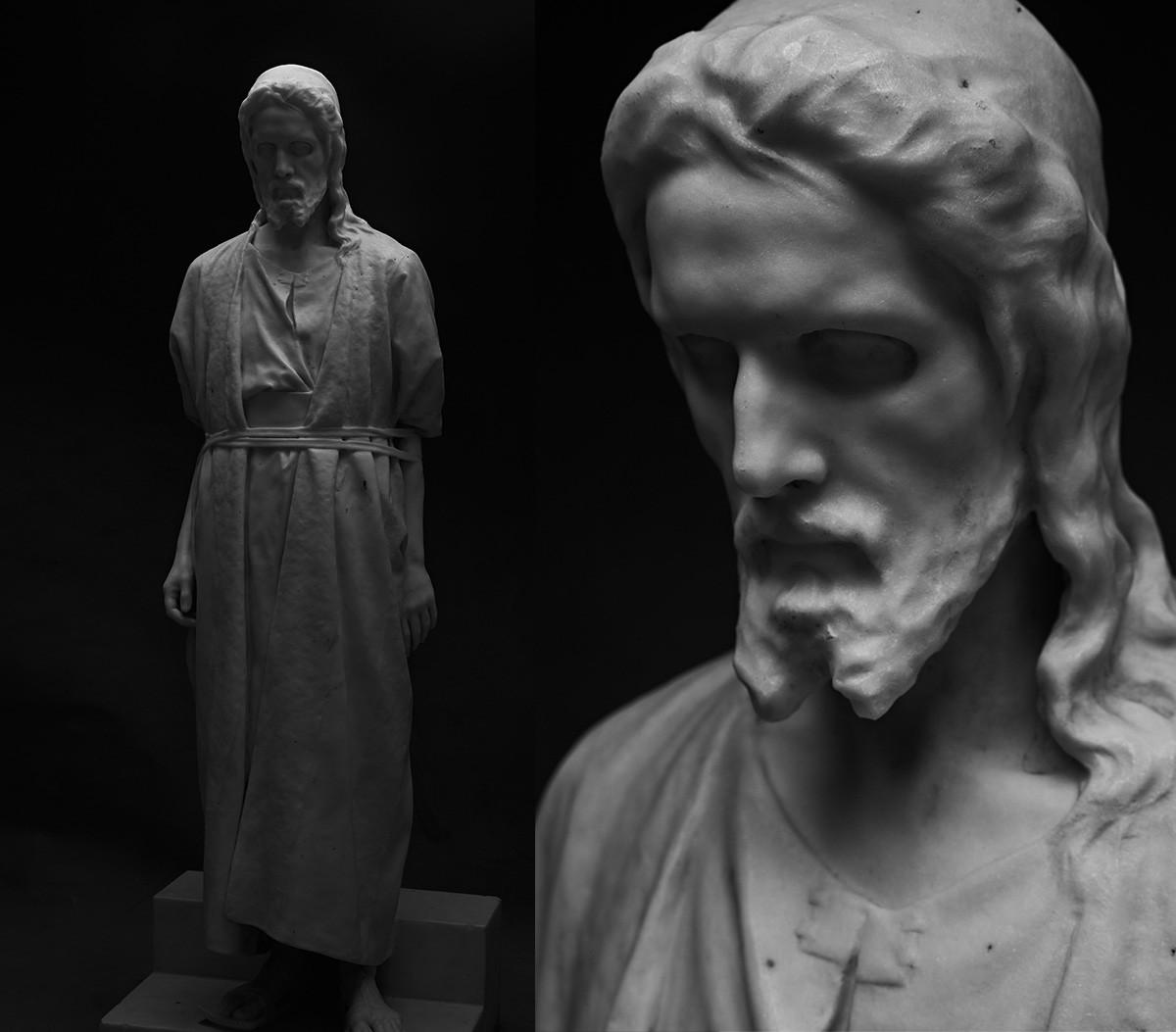 マルク・アントコルスキー、人民裁判の前のキリスト、1874年