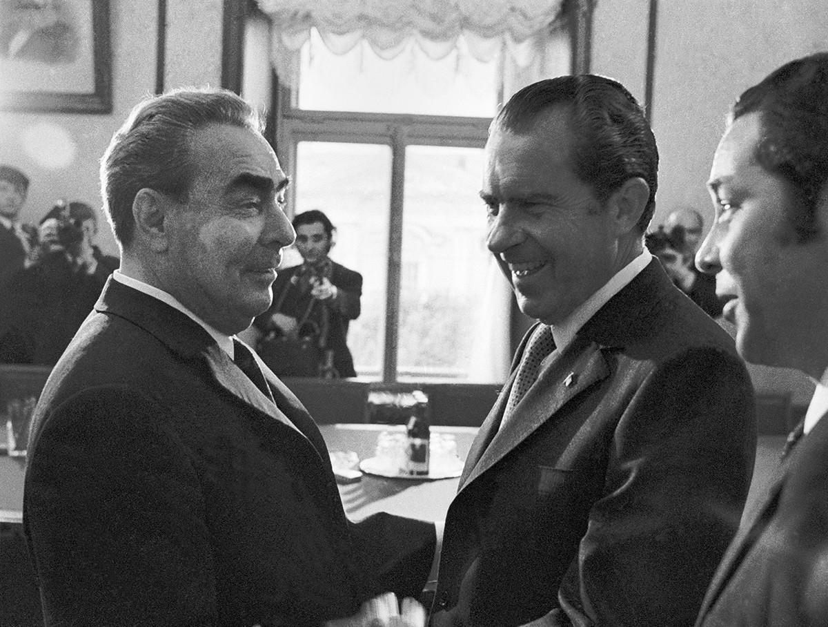 米大統領リチャード・ニクソンの初のソ連公式訪問、1972年