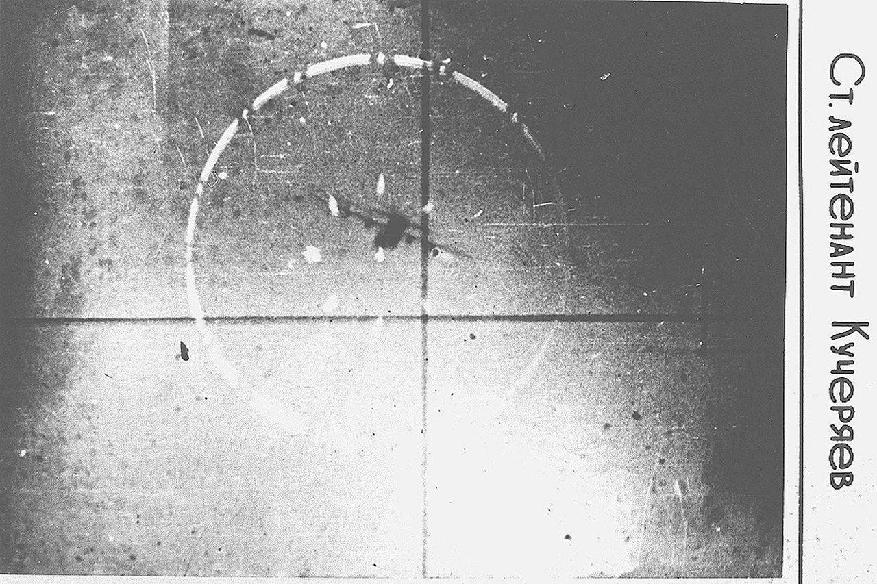 Avión de la OTAN en el punto de mira del teniente Kucheriáev