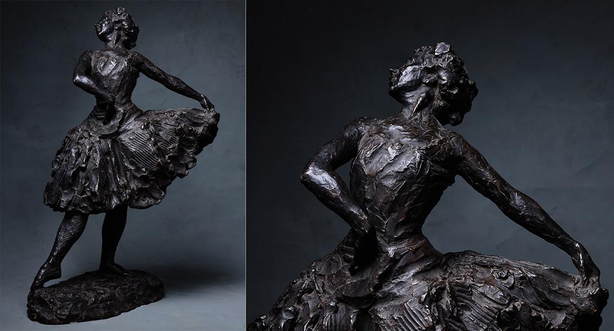 Dmitri Stelletski. La ballerine Ioulia Sedova. 1910. Bronze.