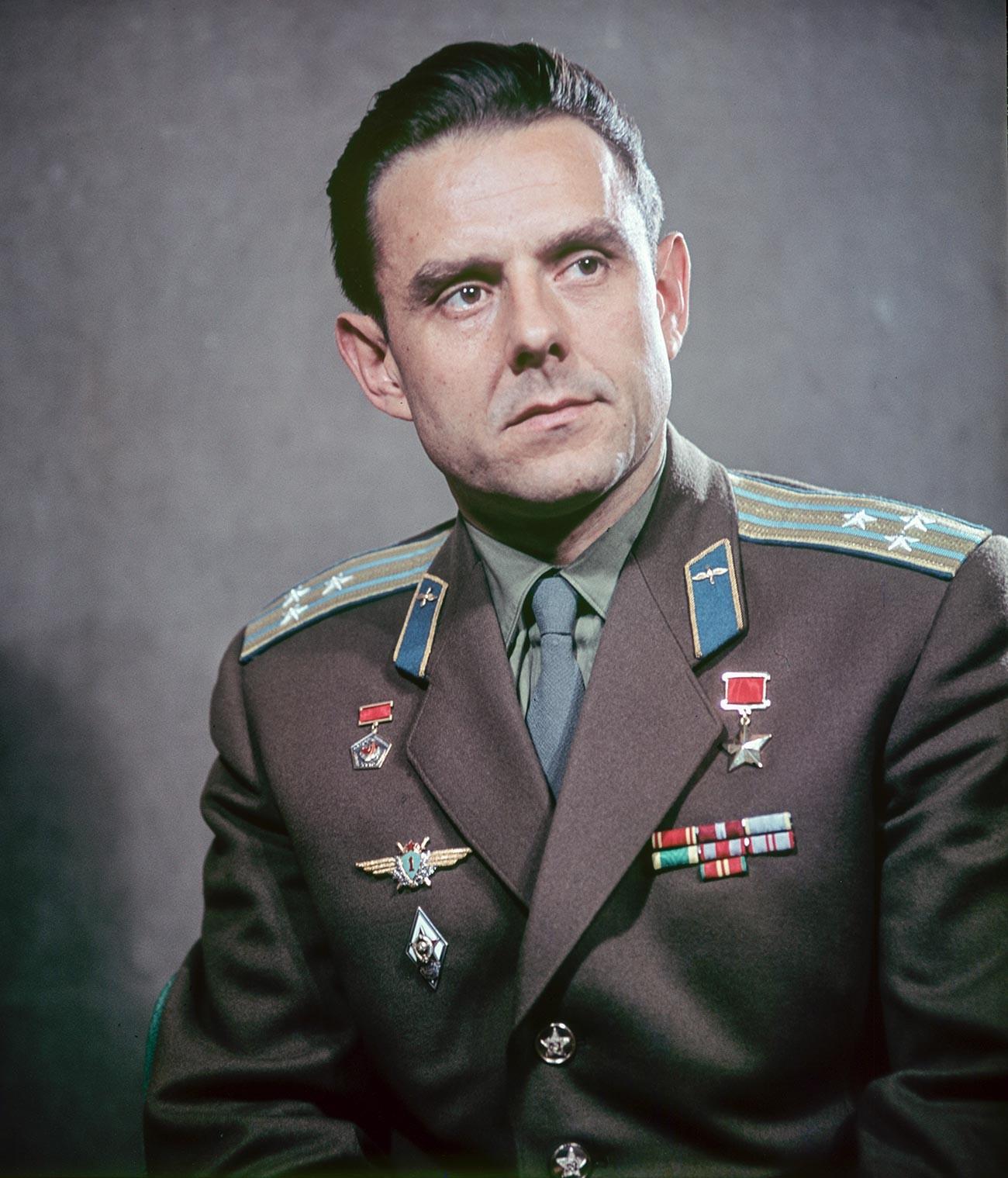 El coronel Vladímir Komarov