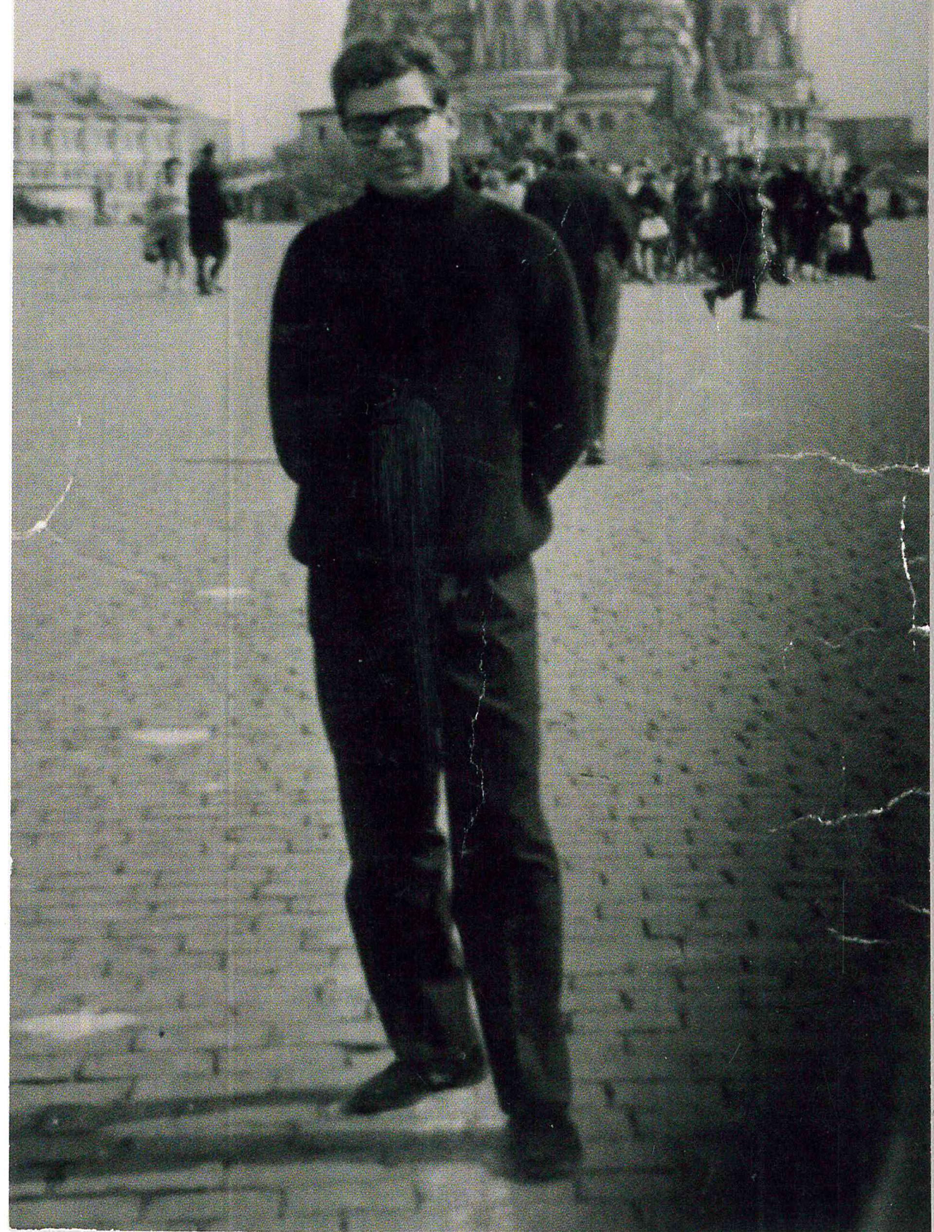 La prima volta sulla Piazza Rossa, 1962