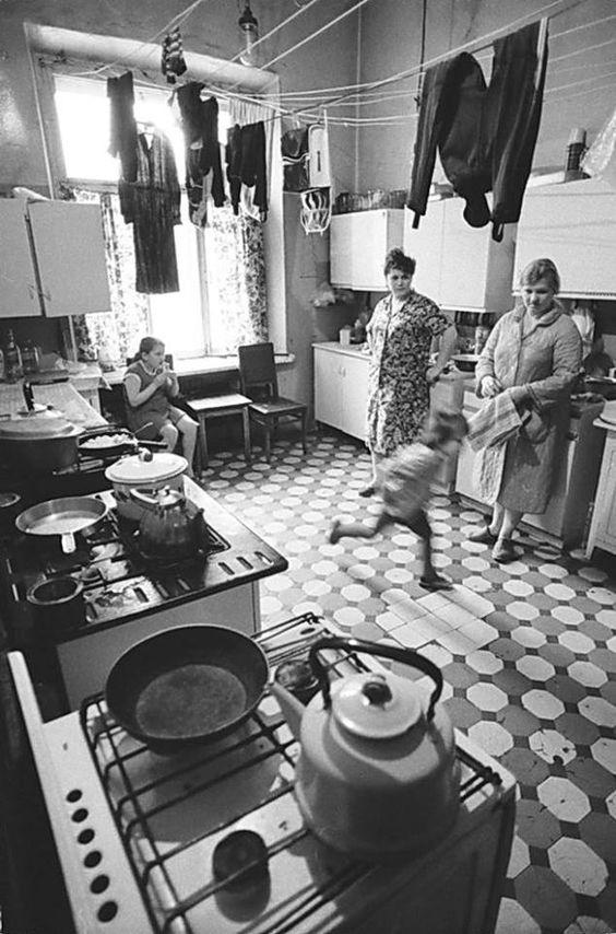 Kommunalka, Mosca, 1983