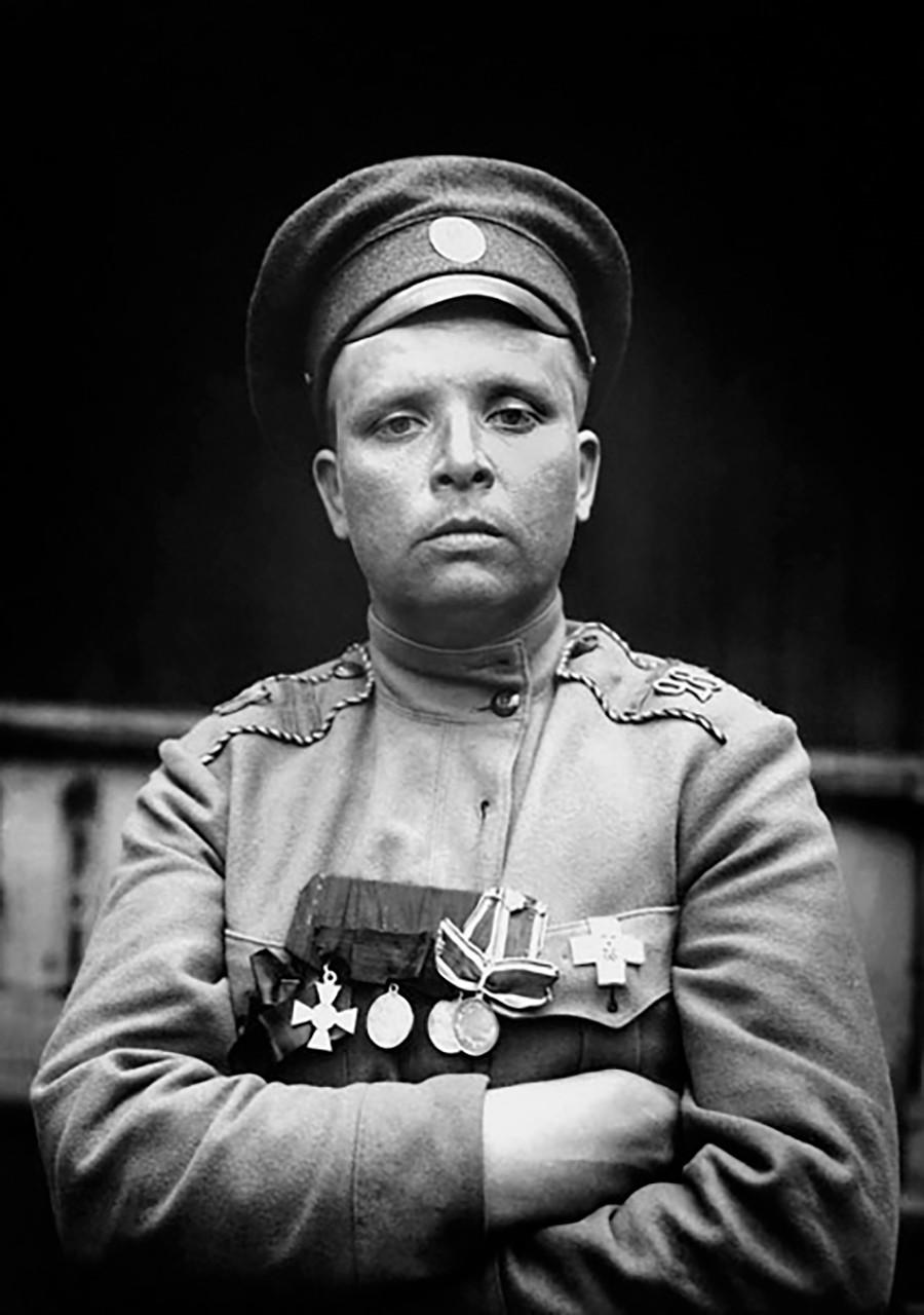 女子大隊の指揮官マリア・ボチカリョワ