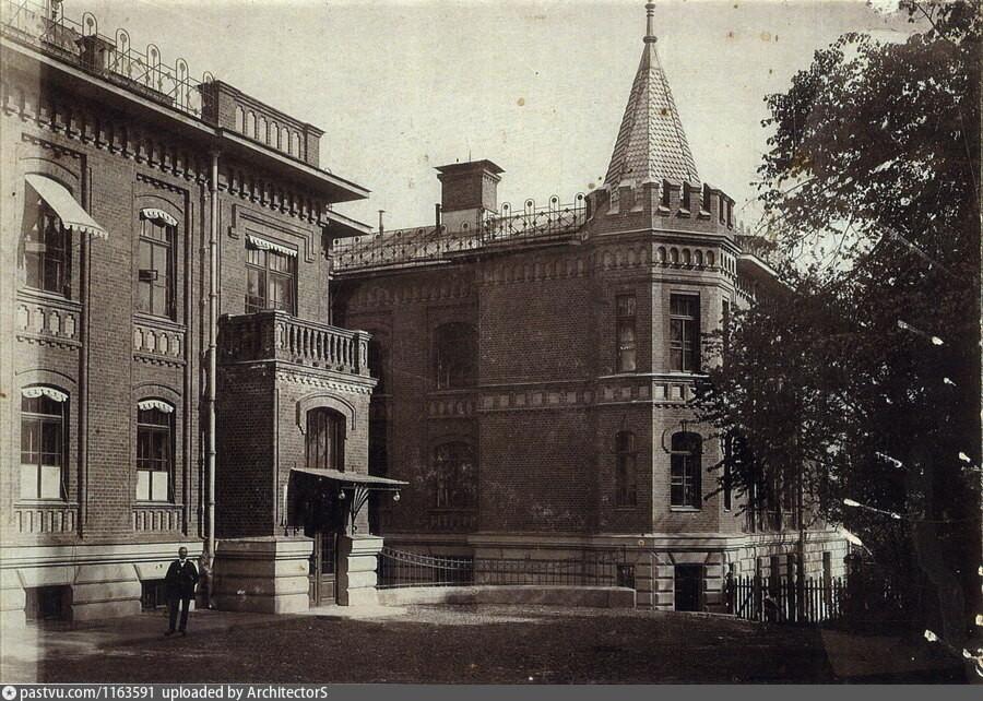 Das Krankenhaus im Jahr 1906