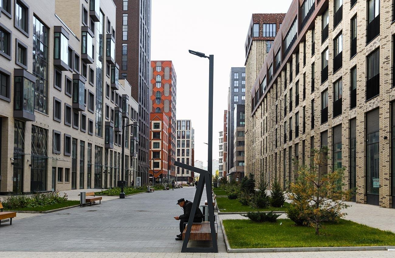 Gradnja stanovanj na ozemlju stanovanjskega kompleksa