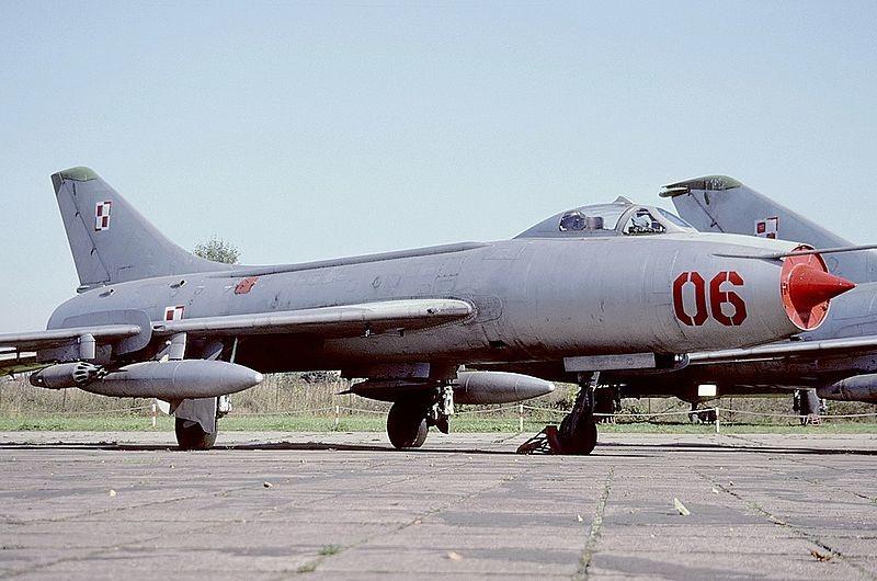 Sujói-7 BM expuesto en el Museo de la Aviación de Polonia (Cracovia)