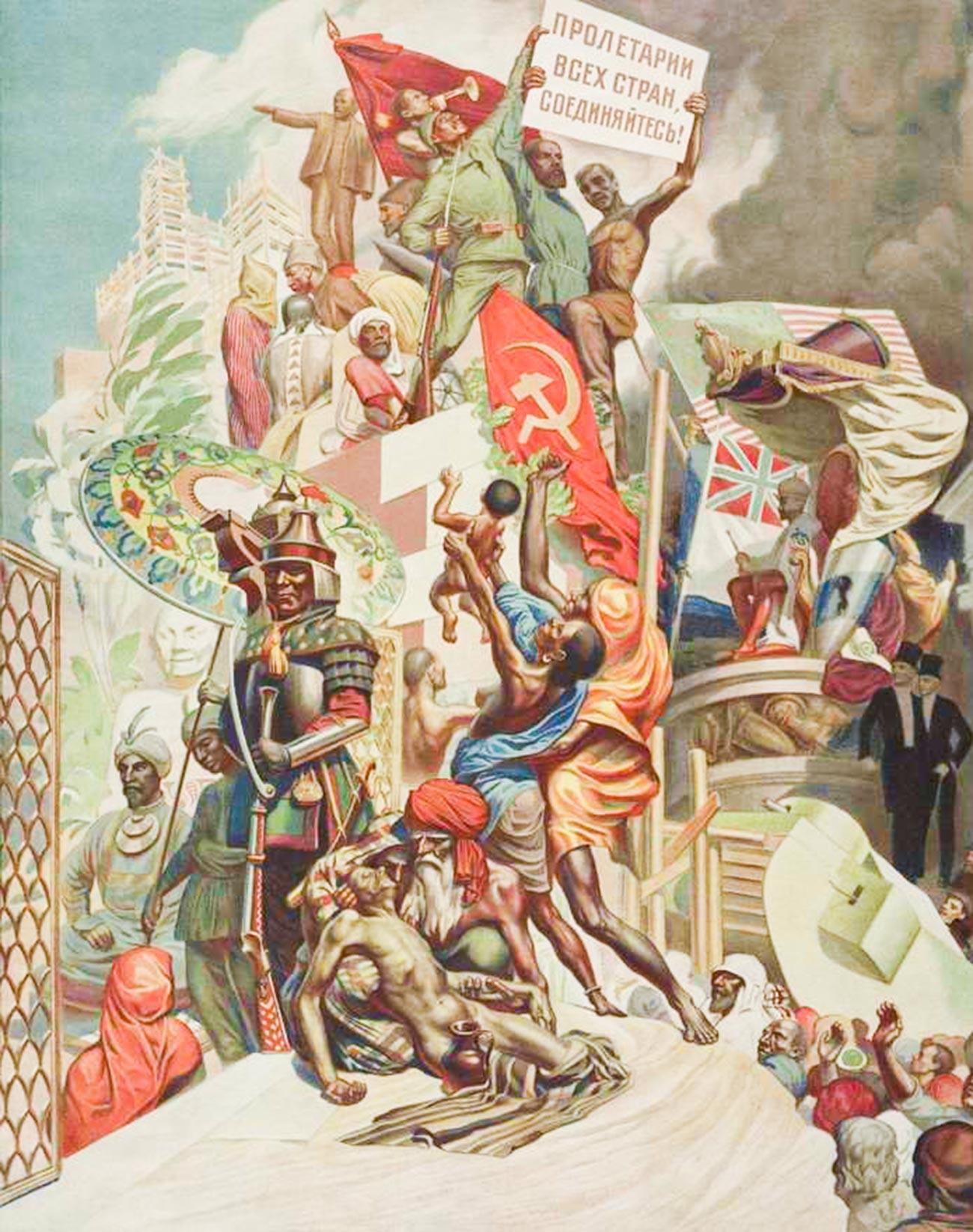 Proletar dunia, bersatulah!