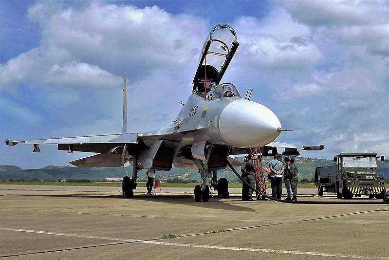 Su-30 venezolano