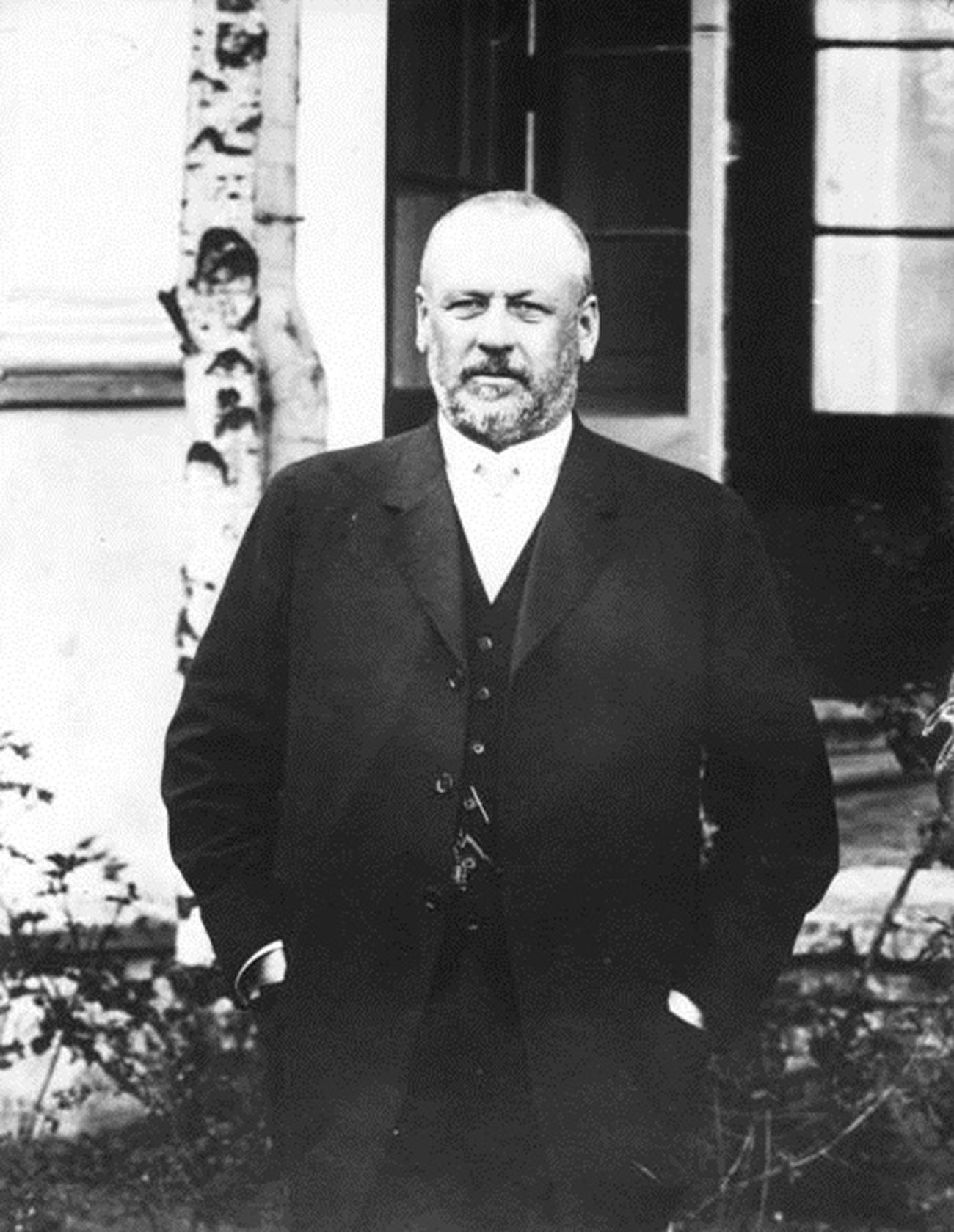 Ketua Duma Negara periode 1911—1917, Mikhail Rodzianko (1859—1924).