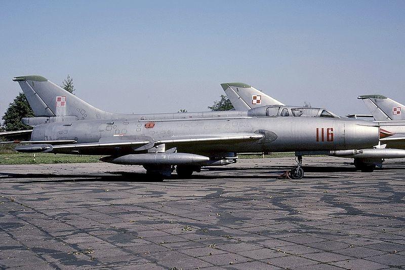 Su-7U u Poljskom muzeju zrakoplovstva (Krakov)