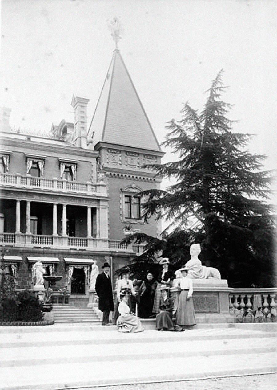 Palais impérial de Massandra, années 1910