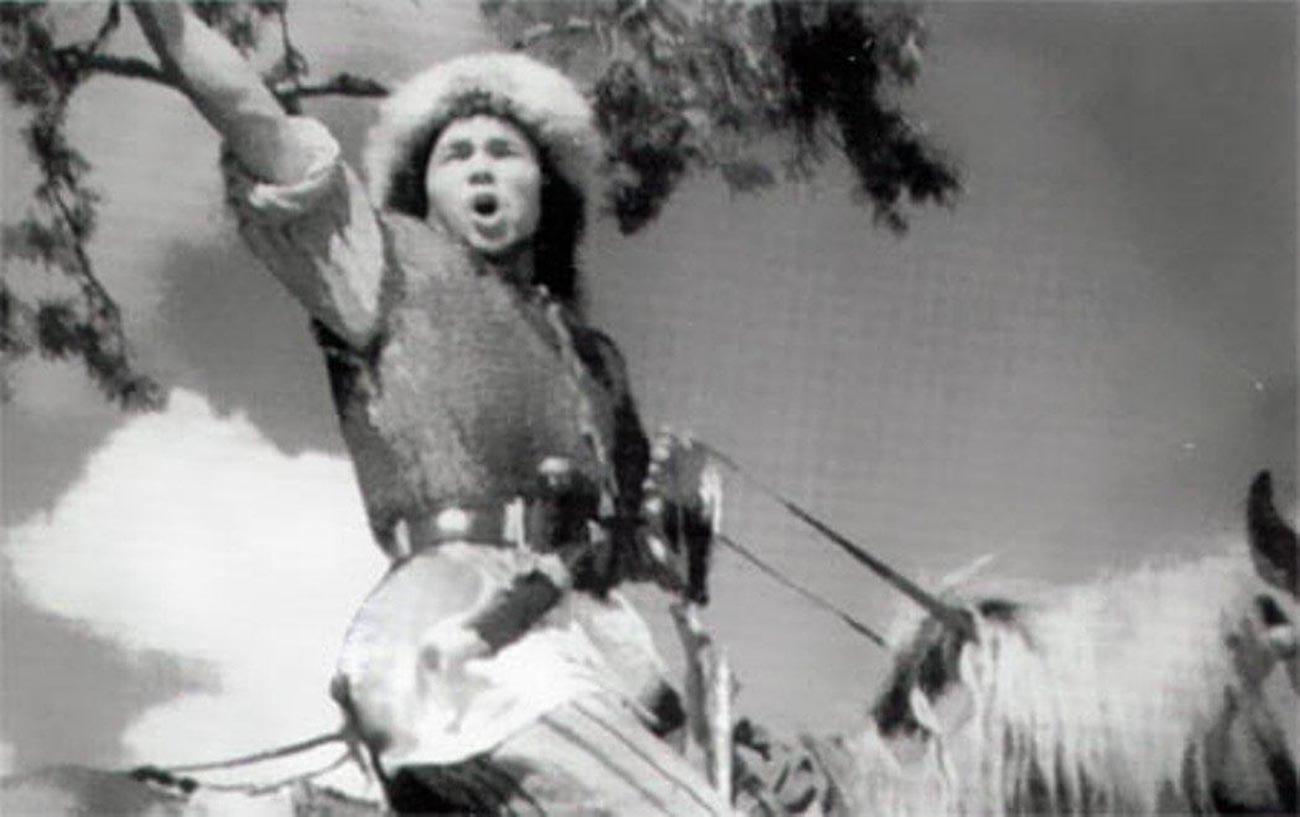 Кадр из советского кинофильма