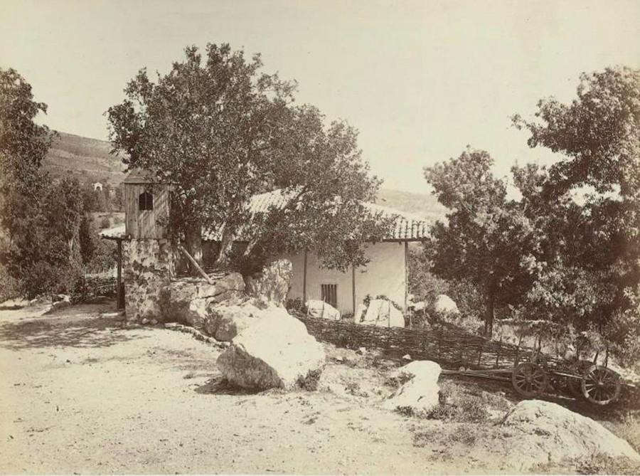 シメイズの風景。1890年代