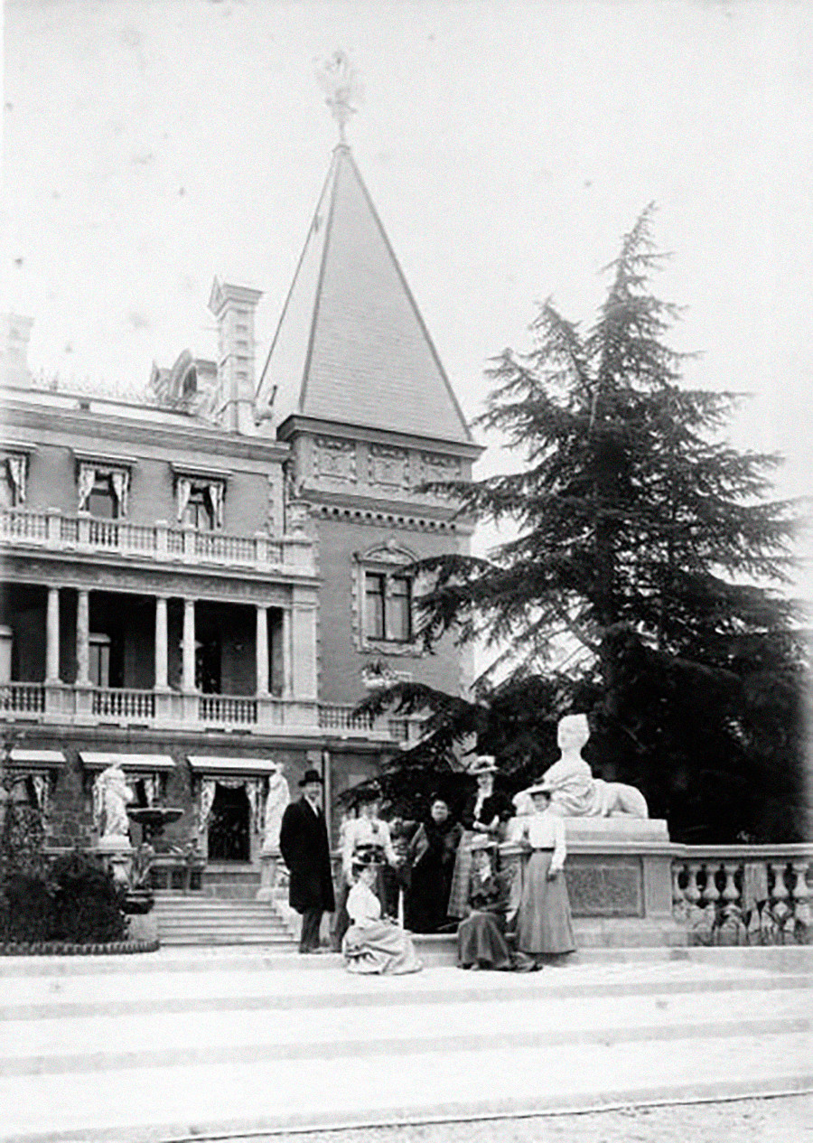 マサンドラ宮殿。1910年